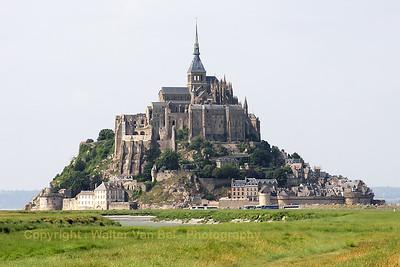 Le Mont-St-Michel.