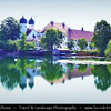Europe - Germany - Deutschland - Bavaria - Bayern - Traunstein district - Seeon-Seebruck - Seeon Abbey - Benedictine monastery located on a small island in the lake Seeoner See