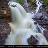 Europe - Germany - Deutschland - Bavaria - Bayern - Garmisch Partenkirchen - Farchant - Kuhflucht Wasserfälle - Spectacular waterfall