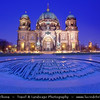 Germany - Berlin - Berlin Cathedral - Berliner Dom -  Evangelical Oberpfarr- und Domkirche - Supreme Parish & Collegiate Church - Literally Supreme Parish & Cathedral Church<br /> <br /> Camera Model: Canon EOS 5D Mark II; Lens: 17.00 - 40.00 mm; Focal length: 17.00 mm; Aperture: 10; Exposure time: 32.0 s; ISO: 250