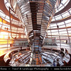 Germany - Berlin - Reichstag - Parliament - Seat of the German Parliament - One of Berlin's most historical landmarks - Dome of the The Reichstag - Large glass dome at the very top of the building - Dome has a 360-degree view of the surrounding Berlin cityscape<br /> <br /> Camera Model: Canon EOS 5D Mark II; Lens: 17.00 - 40.00 mm; Focal length: 17.00 mm; Aperture: 4.0; Exposure time: 1/40 s; ISO: 200