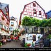 Europe - Germany - Deutschland - Rhineland-Palatinate - Mosel wine region - Beilstein - Historical town on banks of river Moselle
