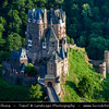 Europe - Germany - Deutschland - Rhineland-Palatinate - Eltz Castle - Burg Eltz - Medieval castle nestled in the hills above the Moselle River, one of three castles in the area that have never been destroyed