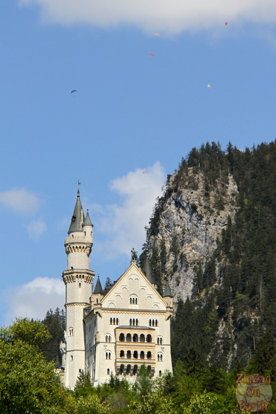 Best spots photograph Neuschwanstein: from Hohenschwangau
