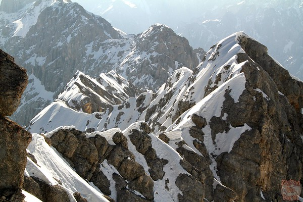 Views from platform Zugspitze Germany 2