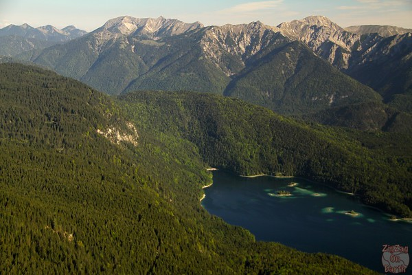 Cable car Eibsee to Zugspitze 2
