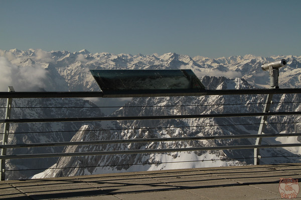 Viewing platform Zugspitze Germany 1