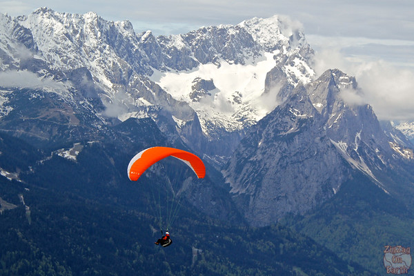 Paragliding from Wankberg photo 1