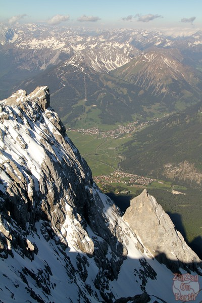 Views from platform Zugspitze Germany 3Views from platform Zugspitze Germany 1