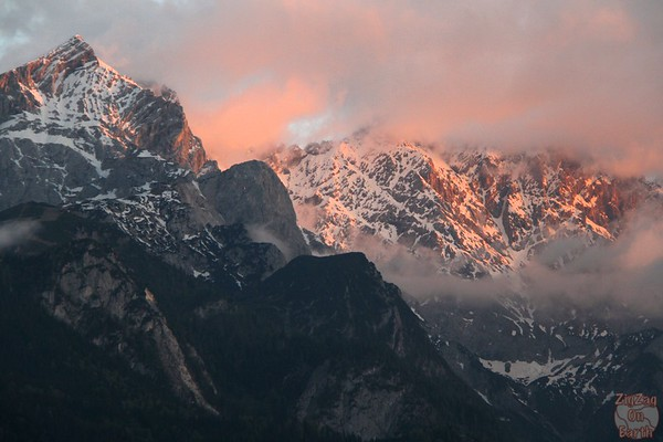 Sunset Garmisch Partenkirchen 2