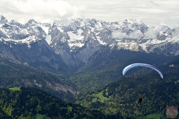 Paragliding from Wankberg photo 2