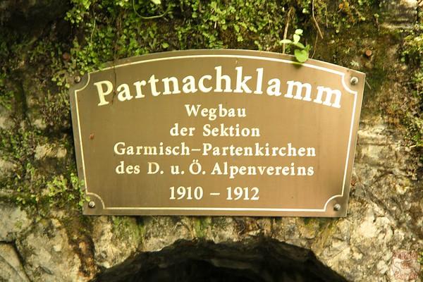 Partnach Gorge, Garmisch Partenkirchen, Germany 1