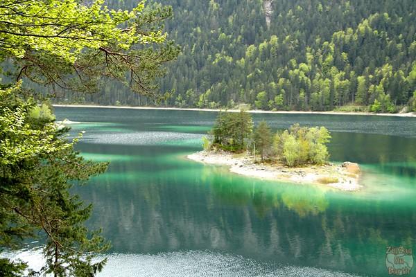 Green shades Eibsee, Garmish Partenkirchen 4
