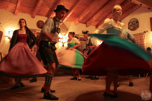 Traditional dance at Garmisch Partenkirchen, Germany