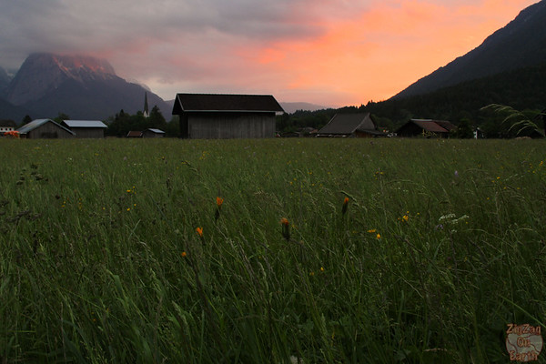 Sunset Garmisch Partenkirchen 5