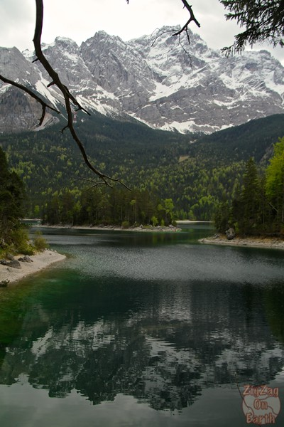 Eibsee and surrounding mountains 1