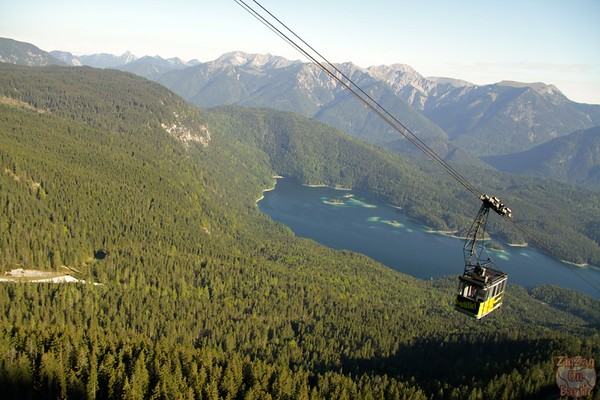 Cable car Eibsee to Zugspitze 1