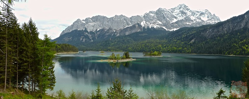 Eibsee and surrounding mountains 2