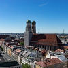 View of Frauenkirche from the Peterskirche