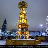 Germany - Saxony - Sachsen - Dresden - White Christmas Atmospher