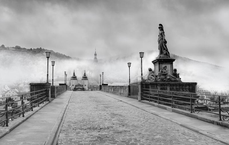 The Old Bridge, Heidelberg