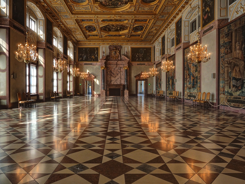 Hall in the Residenz