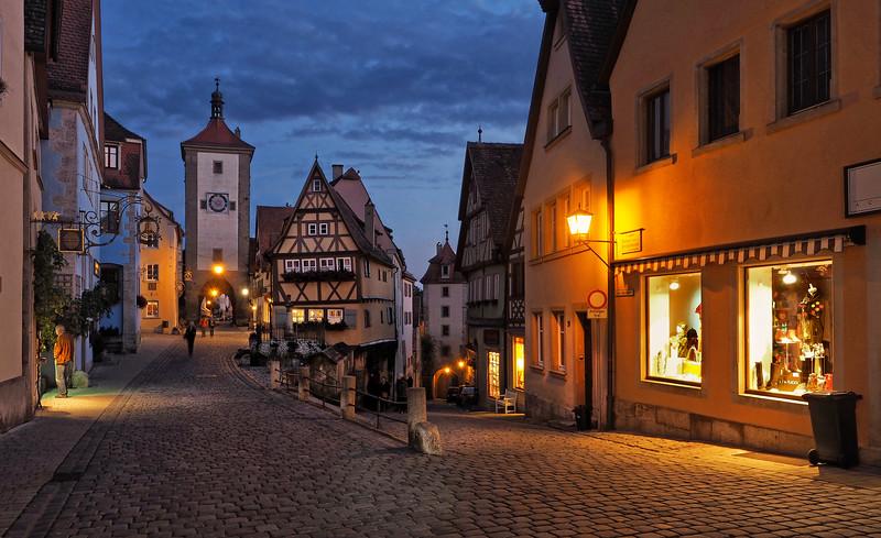 Evening in Rothenburg