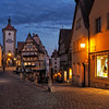 Evening in Rothenburg