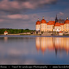 Europe - Germany - Deutschland - Saxony - Sachsen - Schloss Moritzburg - Moritzburg Castle - Baroque palace built on island in the middle of lake