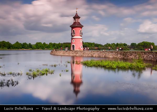 Europe - Germany - Deutschland - Saxony - Sachsen - Schloss Moritzburg - Moritzburg Castle Area - Fasanenschlösschen - Chinese-style Little Pheasant Castle