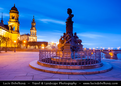 Europe - Germany - Saxony - Sachsen - Dresden - Well preserved B