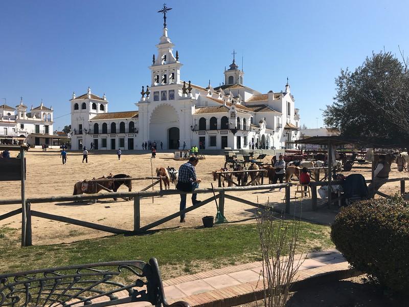 El  Rocio church near Sevilla.