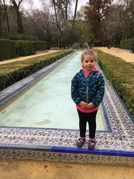 Parque de Maria Luisa in Sevilla.