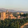 Allhambra fortress in Granada