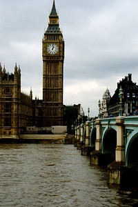 Big Ben Across The Thames