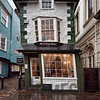 The Crooked House of Windsor originally constructed in 1592 and rebuilt in 1718 (also known as the Market Cross House), Windsor, Berkshire