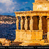 Athens - Αθήνα - Athína - Athine - Capital & largest city of Greece - The Acropolis of Athens or Citadel of Athens - UNESCO World Heritage Site - The Erechtheum - Ἐρέχθειον - Erechtheion - Ancient Greek temple on the north side of the Acropolis