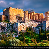 "Athens - Αθήνα - Athína - Athine - Capital & largest city of Greece - The Acropolis of Athens or Citadel of Athens - UNESCO World Heritage Site - Temple of Athena Nike - Nike means ""victory"" in Greek - Athena was worshiped in this form, as goddess of victory in war"
