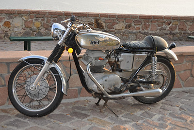 Molyvos - Vintage BSA 650 Lightning from the 70ies