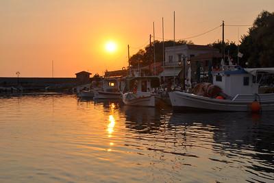 Molyvos - Golden Fishing Boats