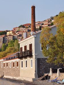 Molyvos - Olive Press Hotel Chimney