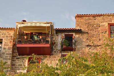 Molyvos - Small Private Terrace