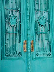 Molyvos - Repainted Door