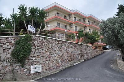 Hotel Milton, Mavrovouni (Gytheio)