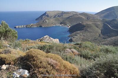 view toward Porto Kagio Bay