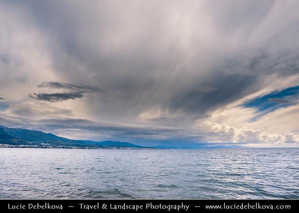 Southern Europe - Greece - Peloponnese peninsula - Rio Antirio Bridge