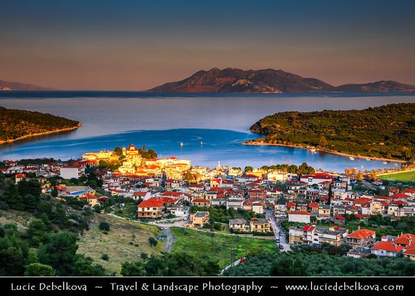 Southern Europe - Greece - Peloponnese peninsula - Palaia Epidavros - Archaia Epidauros - Small historal town & ancient city of Epidauros between two bays on coast of Saronic gulf