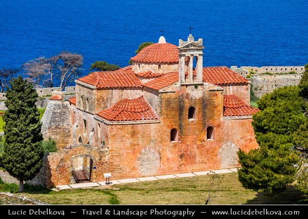 Southern Europe - Greece - Peloponnese peninsula - Pylos - Pilos - Seaport historical town - Coastal area with Marina