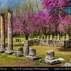 Southern Europe - Greece - Peloponnese peninsula - Archeological site of Olympia - UNESCO World Heritage Site - Location of ancient Olympic Games beginning in 776 BC with numerous temples, sanctuaries & remains of several sporting structures