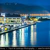 Southern Europe - Greece - Peloponnese peninsula - Gytheio - Gythio - Ancient Gythium - Gytheion - Seaport historical town on eastern shore of Mani Peninsula